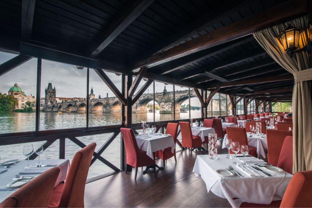 Ресторан для свадьбы в Праге